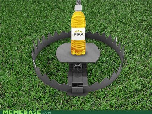 bear bear grylls grass IRL piss trap - 5361113600