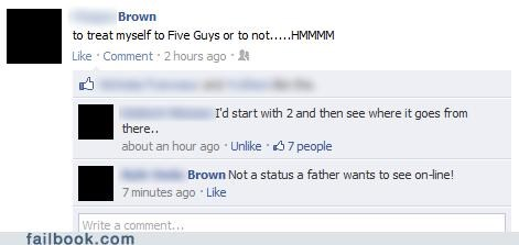 dad five guys not what it sounds like parents