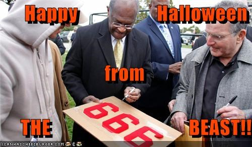 999 plan devil halloween herman cain political pictures - 5361325568