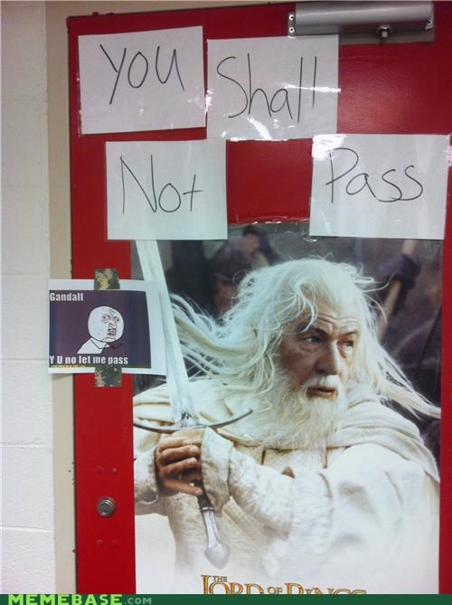 bathroom gandalf Lord of the Rings sexism Y U No Guy - 5361337088