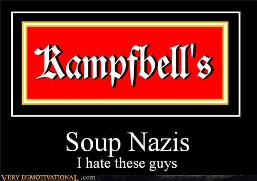 hilarious seinfeld soup nazis wtf - 5361463552