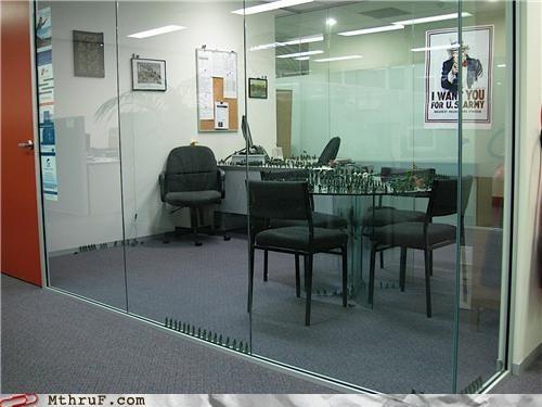 army cubicle Office prank war - 5361797120