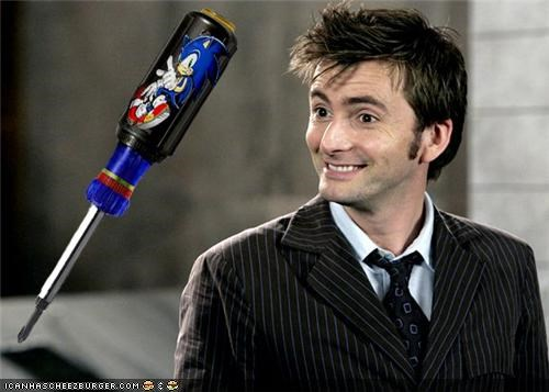 David Tennant doctor who screwdriver sonic screwdriver sonic the hedgehog the doctor - 5361809408