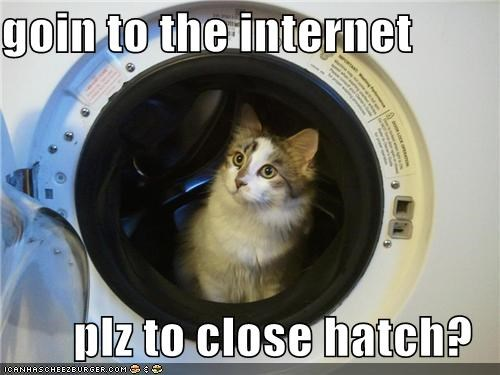 brb cat going to the internet I Can Has Cheezburger internet space space travel - 5361995264