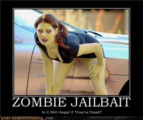 hilarious illegal jailbait Sexy Ladies zombie