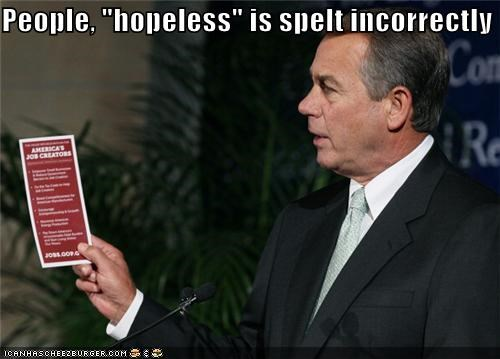 jobs,john boehner,political pictures