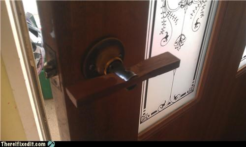bad puns door handle dual use handle - 5362435840
