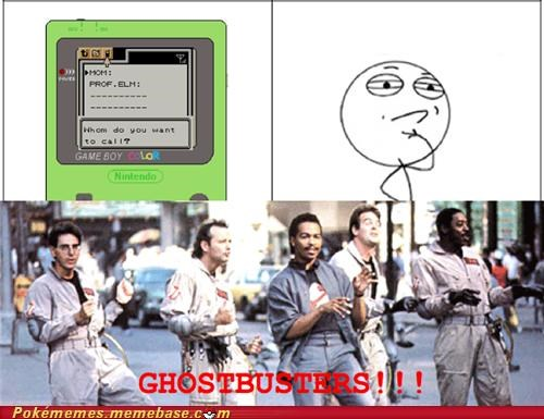 gameboy color Ghostbusters logical mom rage comic Rage Comics - 5362928128