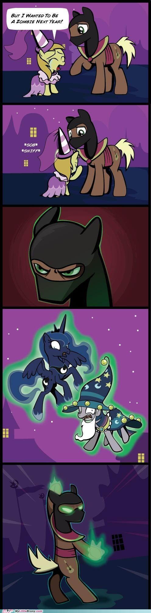 comic comics luna nightmare night Sad scary scorpion sob twilight sparkle zombie - 5363124480