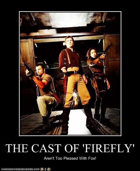 THE CAST OF 'FIREFLY' Aren't Too Pleased With Fox!