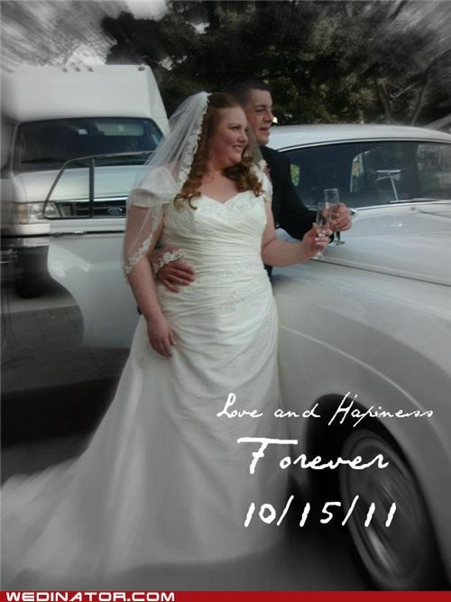 bride buses funny wedding photos groom KISS shuttle bus - 5363742720