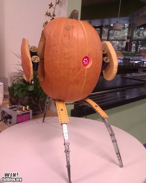 carving,halloween,nerdgasm,pop culture,pumpkins,sculpture,video games