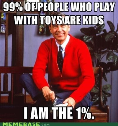 kids,make believe,mr rogers,neighboorhood,Occupy Wall Street,television,toys