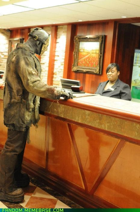 cosplay,friday the 13th,halloween,hotel,jason,Movie