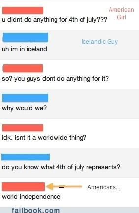 facepalm fourth of july holidays Iceland independance day usa