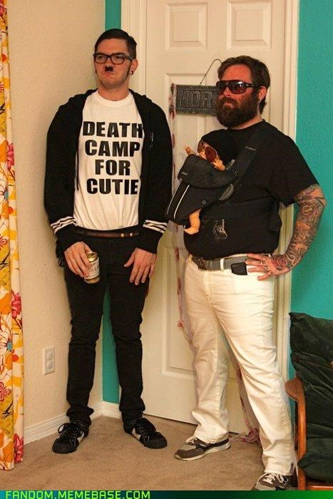halloween hipster hitler hipsters The Hangover - 5364118528