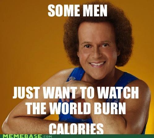 burn calories richard simmons some men - 5364215040