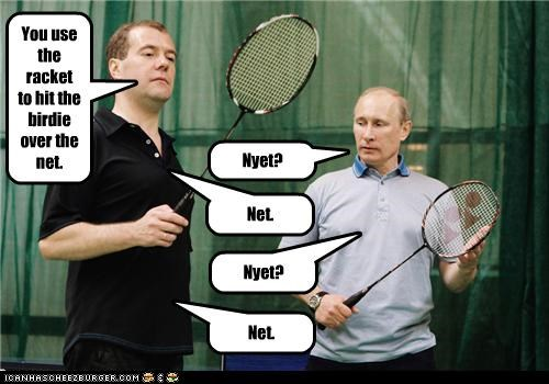 Dmitry Medvedev political pictures tennis Vladimir Putin - 5364269312