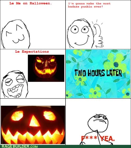 Close Enough jack o lanterns pumpkins Rage Comics