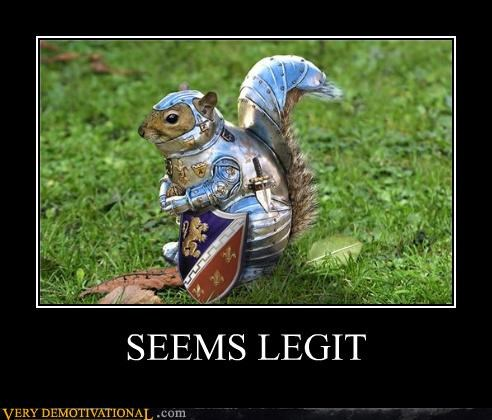 armor hilarious redwall seems legit squirrel - 5364448256