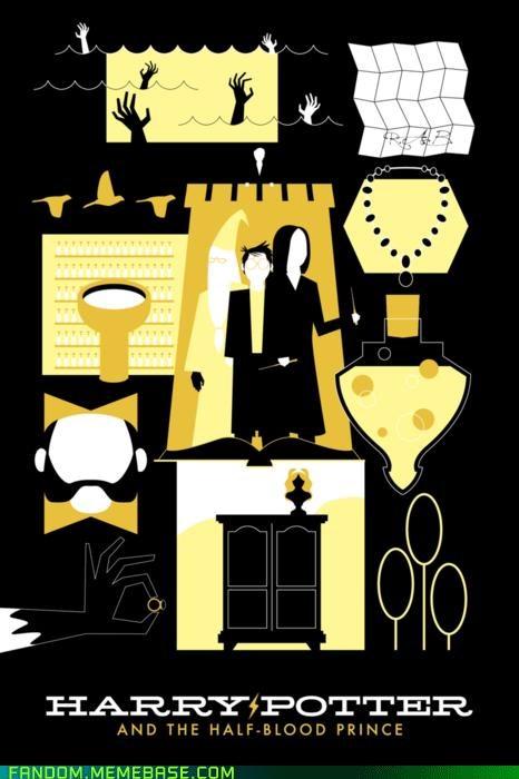 Fan Art Harry Potter Movie movie poster - 5364466688