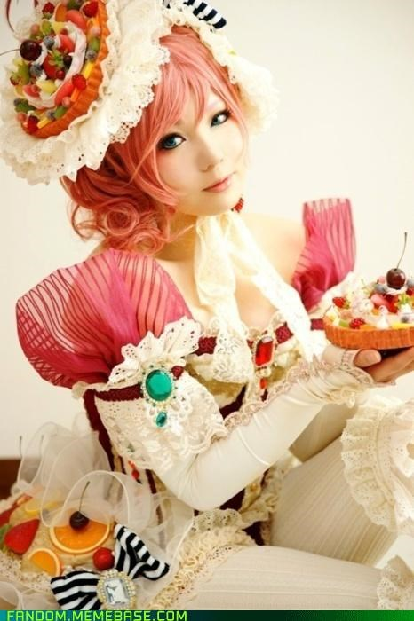 candy land cosplay cute dessert - 5364492288