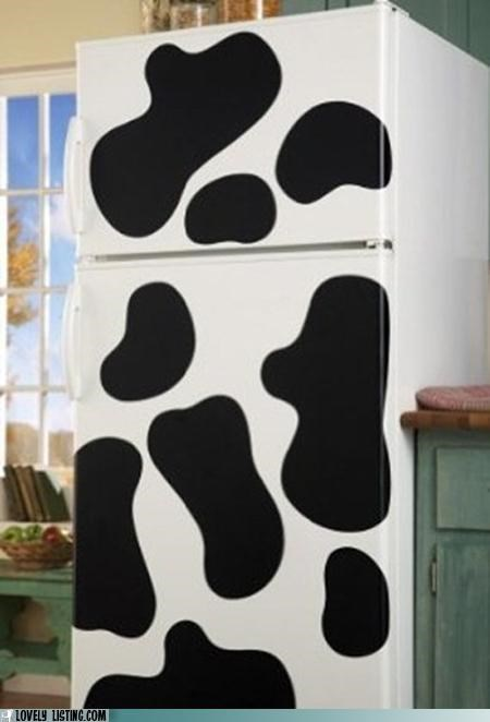 costume cow fridge halloween refrigerator - 5364513536