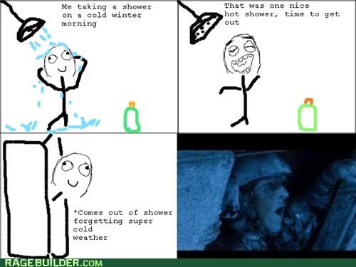 cold Rage Comics shower winter - 5364861440
