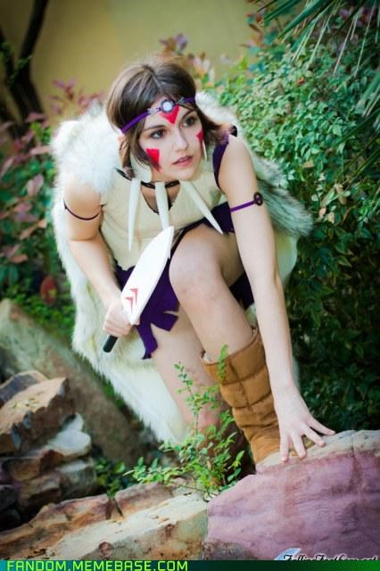 anime cosplay princess mononoke san - 5364879872