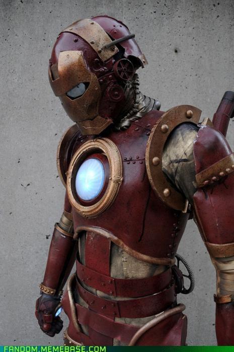 cosplay ironman Steampunk - 5364904960