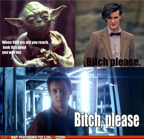 arthur darvill doctor who Matt Smith rory williams the doctor yoda - 5364914432