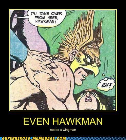 Hawkman Super-Lols superman wingman wtf - 5364917504