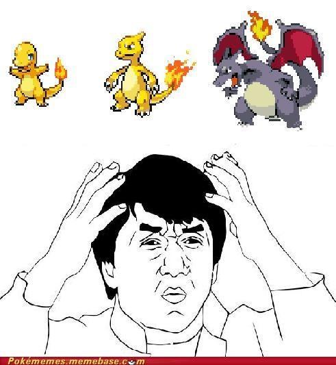 charmander confused dafuq Jackie Chan meme Memes shinies - 5365209088