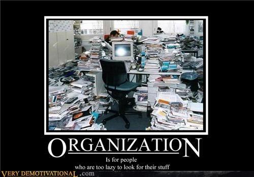 computer desk hilarious lazy organization - 5365392640