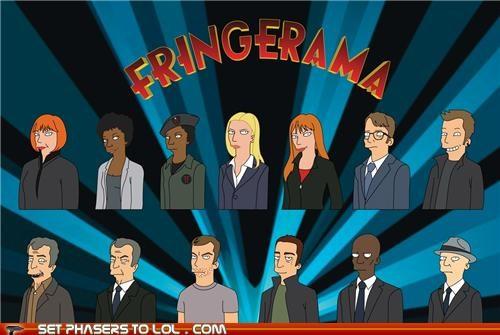 characters,drawings,Fringe,Matt Groening
