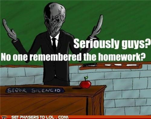 homework remember spanish teacher the silence - 5365435392