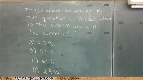answer IRL multiple choice percent question - 5365487360
