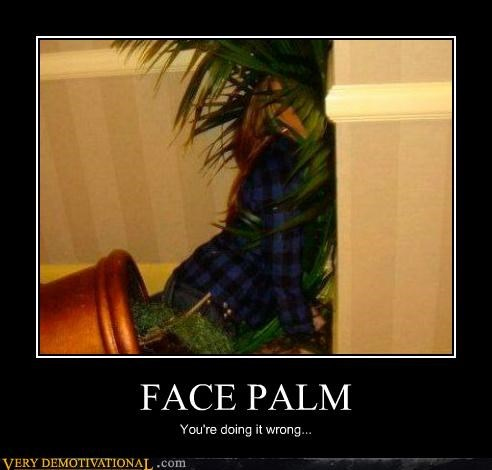 doing it wrong face palm falling hilarious tree - 5365794304