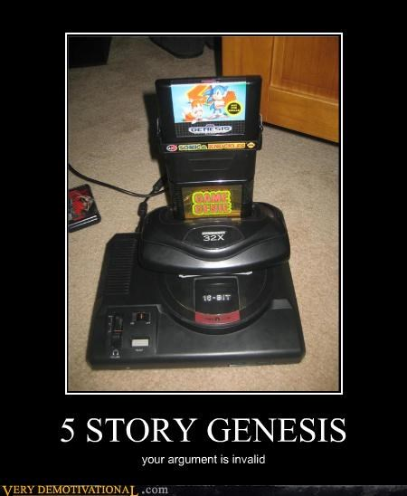 awesome sega genesis stack funny