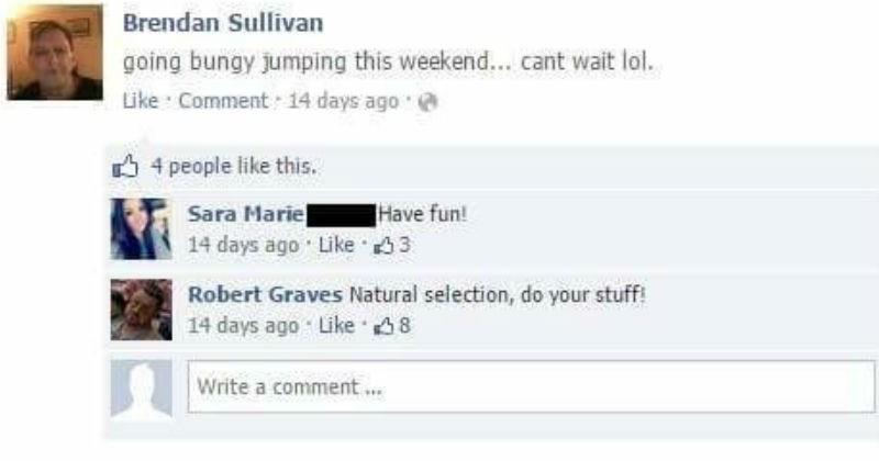 Facebook trolls Brendan Sullivan and Robert Graves
