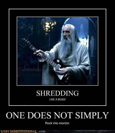 guitar hilarious Lord of the Rings shredding - 5366766336