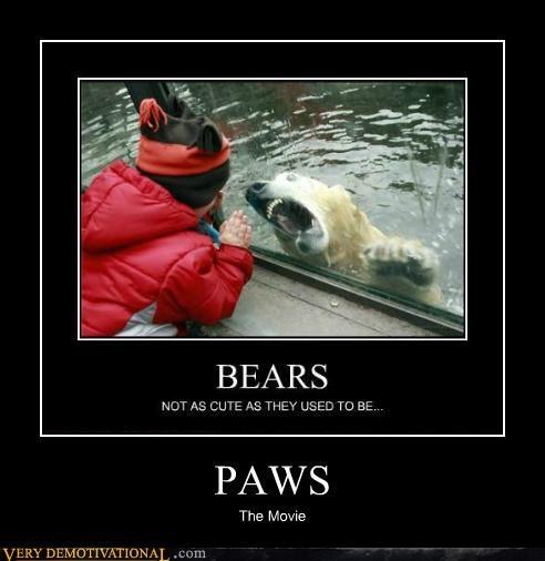 animals bear kid scary Terrifying - 5366835200