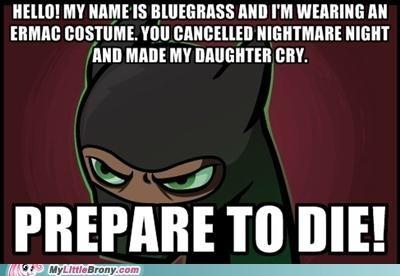 bluegrass daughter Ermac nightmare night ponies prepare to die - 5366898432