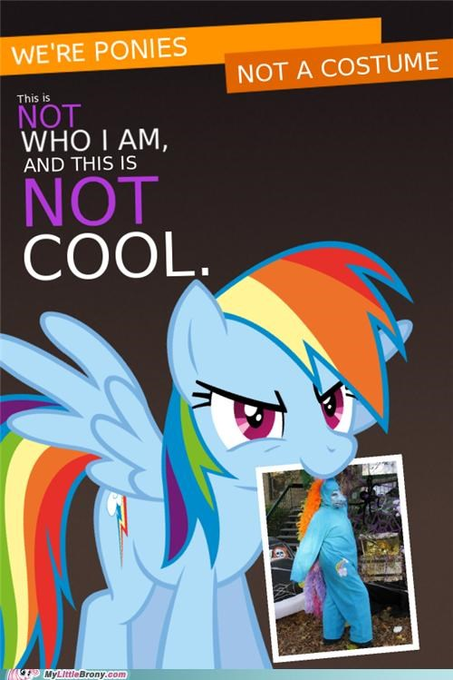 best of week costume meme not a costume not cool rainbow dash - 5366909952