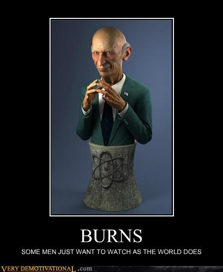 burns creepy hilarious IRL simpsons statue - 5367509760