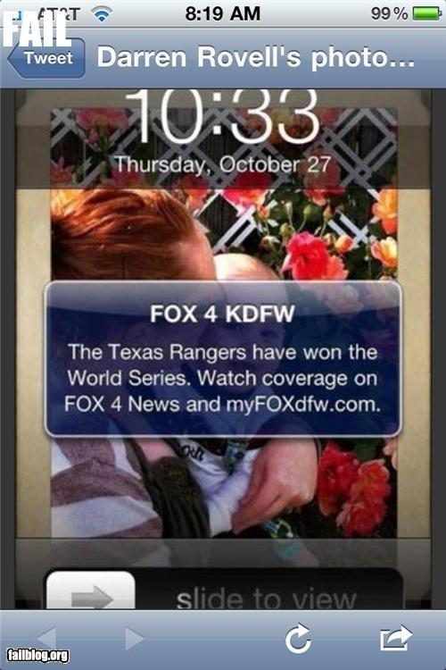 baseball failboat g rated stupidity whoops World Series - 5367570176