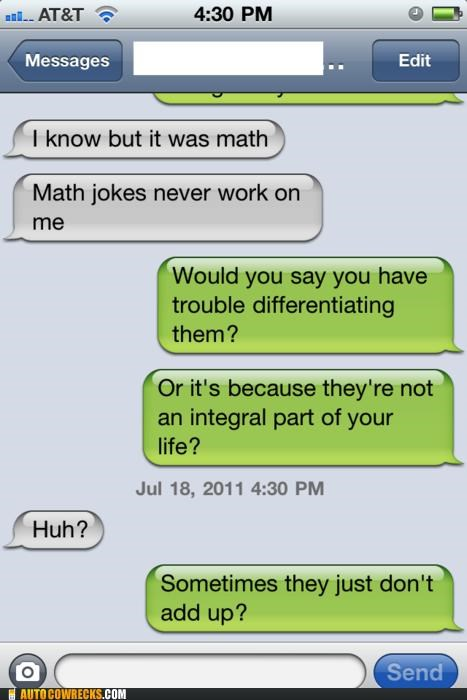 differential,integral,jokes,math,math jokes,puns