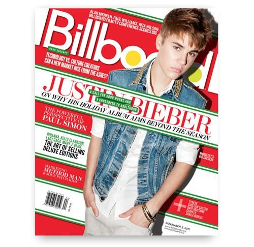 billboard,Busta Rhymes,christmas,justin bieber,mariah carey,Music,Under the Mistletoe
