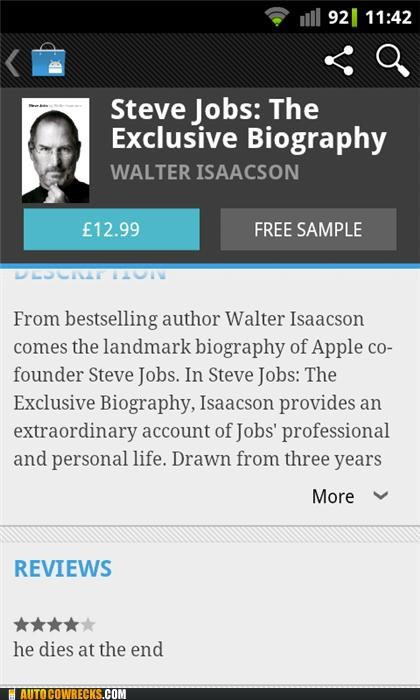 biography Death dies review steve jobs - 5368225024