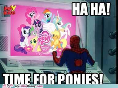 brony MLP Spider-Man Super-Lols - 5368287744